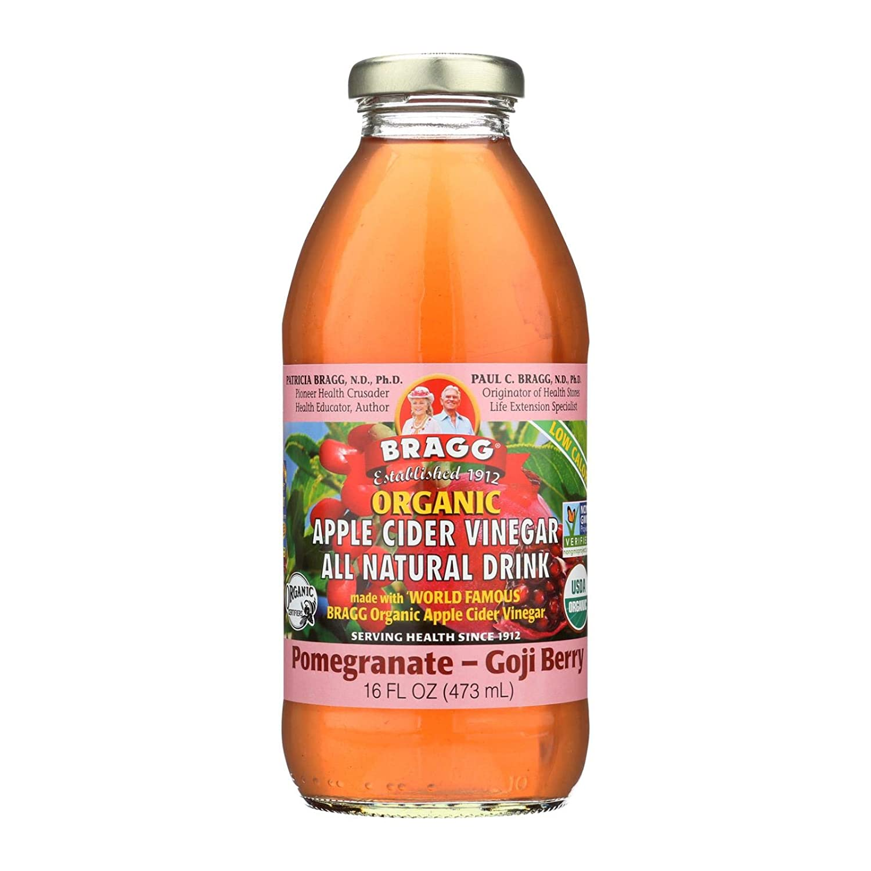 BraggOrganic Bragg Pom/Goji Vinegar 16 Oz (Pack Of 12)