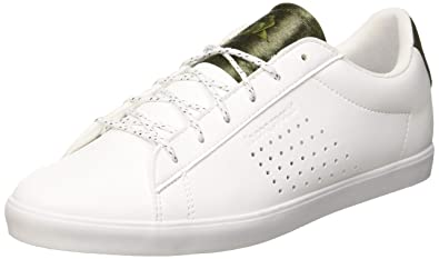 Le Coq Sportif Damen Agate Optical WhiteOlive Night Sneaker