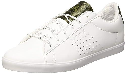 Le Coq Sportif Agate Optical White/Olive Night, Zapatillas para Mujer: Amazon.es: Zapatos y complementos
