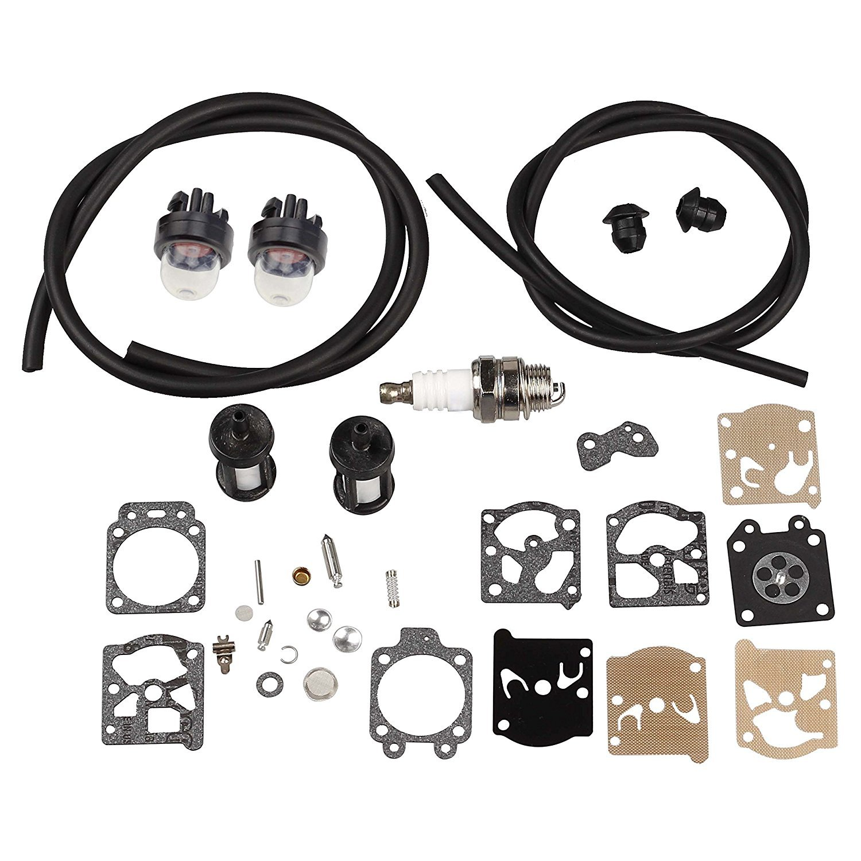HIPA Kit de reparación carburador con manguera de gasolina ...