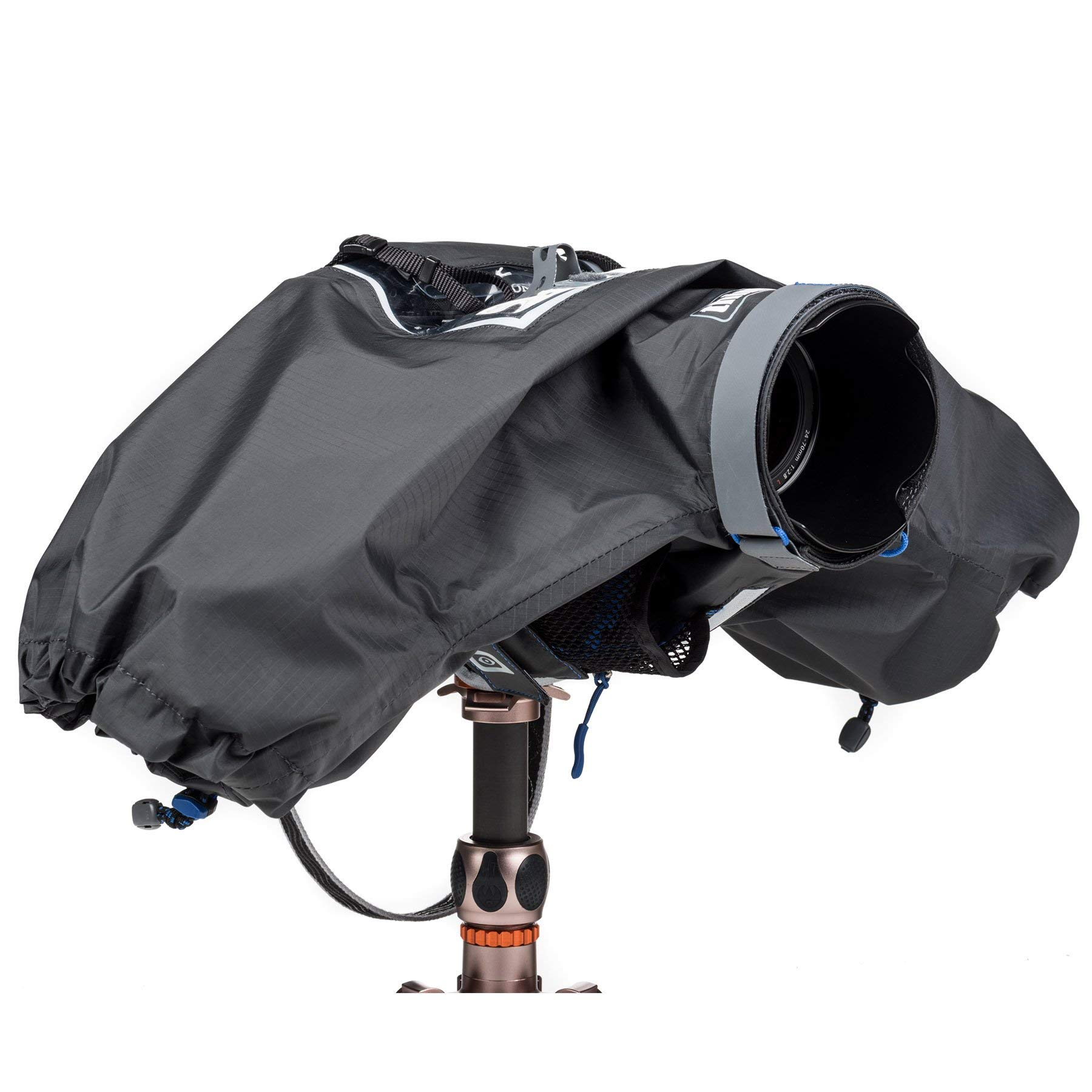 Think Tank Photo Hydrophobia M 24-70 V3 Rain Cover for Sony Alpha-Series Full-Frame mirrorless Camera with 24-70mm f/2.8 Lens