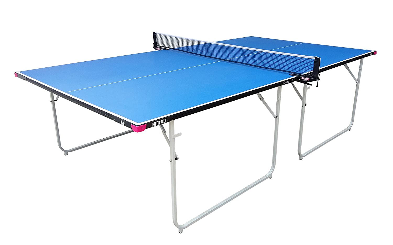 Amazon.com : Butterfly Compact 16 Table Tennis Table with Net Set ...