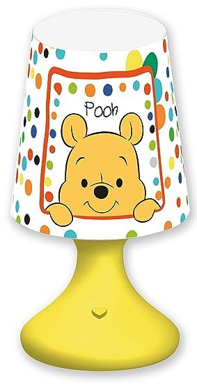 Joy Toy 68024 Winnie the Pooh baby LED Mini lámpara pantalla: Amazon.es: Juguetes y juegos