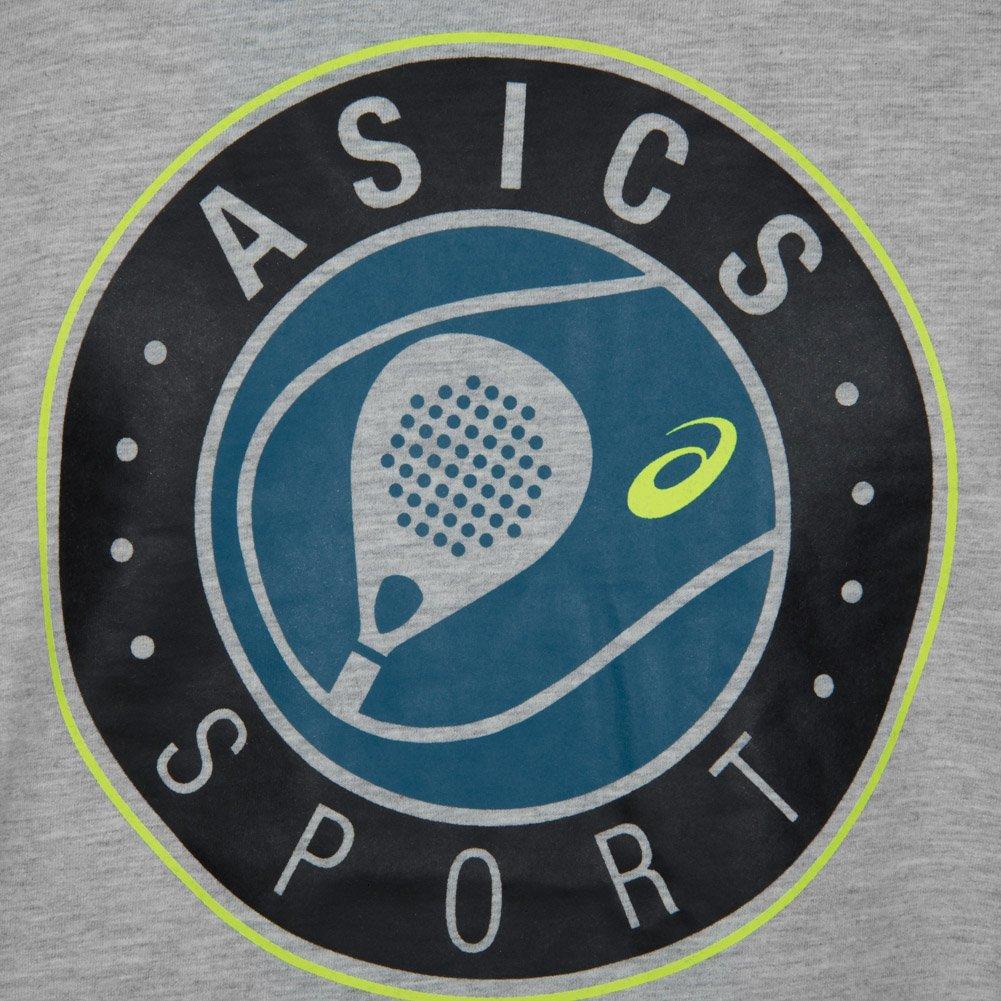 ASICS Camiseta SS Graphic Top Gris: Amazon.es: Deportes y ...
