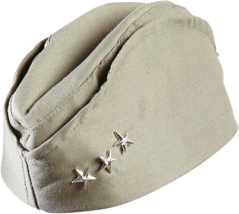 NET TOYS Capello Esercito USA Seconda Guerra Mondiale Copricapo Militare Ufficiale statunitense Accessorio Uniforme Costume Pilota Aerei