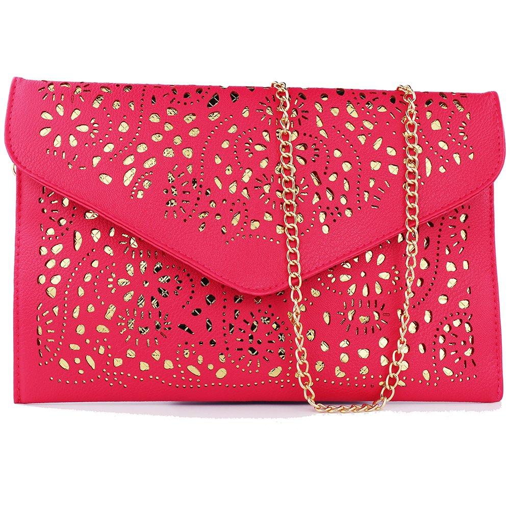 women bag 2017 bolsa feminina women purses and handbags women leather handbags crossbody bags for women crossbody purse bolsos mujer elegante bag small crossbody bags for women clutch bag (rose red)