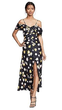 3cb508c122c1 Amazon.com: Self Portrait Women's Off Shoulder Floral Printed Dress ...