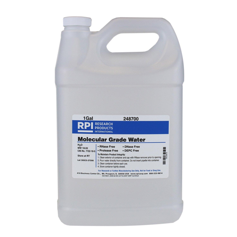 Water, Molecular Biology Grade, DNase and RNase Free, 1 Gallon