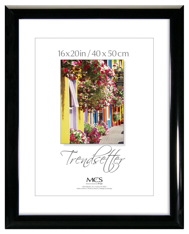 MCS Trendsetter 16x20 Inch Poster Frame, Black (65535)