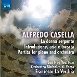 Casella: La donna serpente, Introduzione, aria e toccata, Partita for piano and orchestra