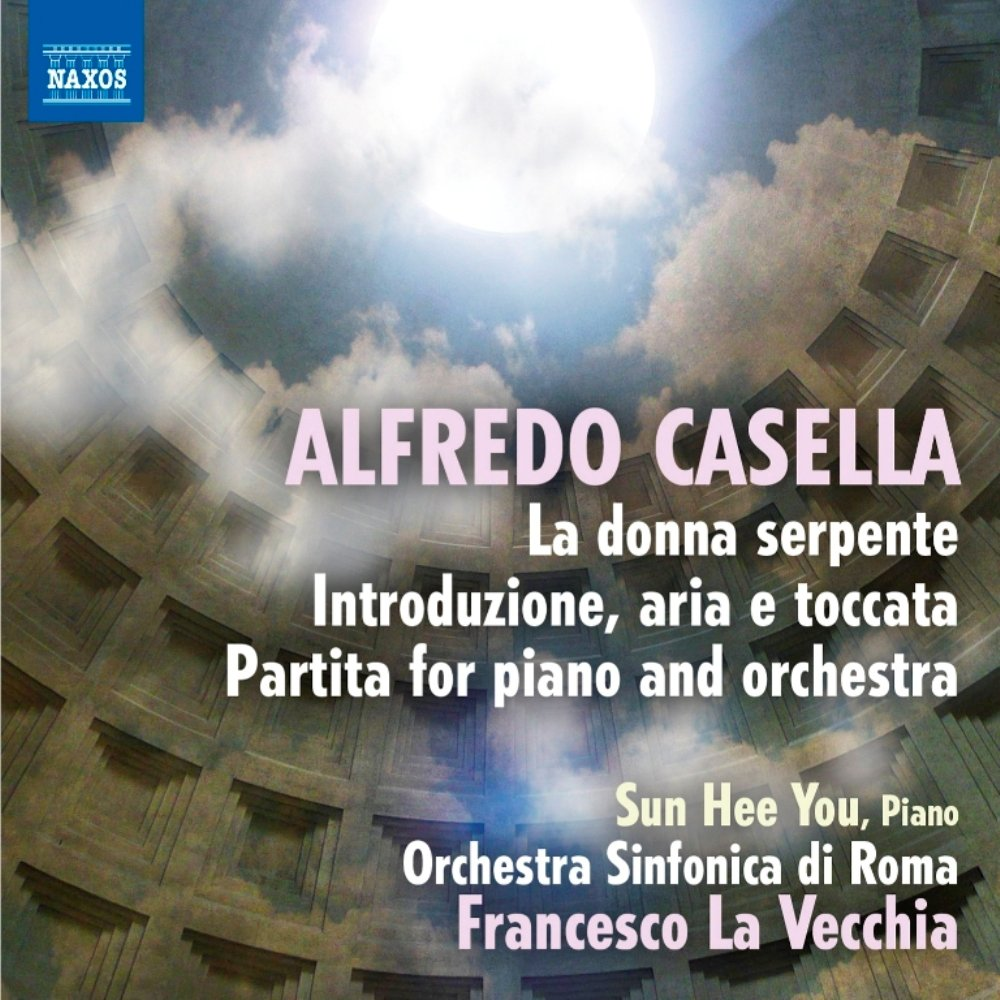Casella: La donna serpente, Introduzione, aria e toccata, Partita for piano and orchestra