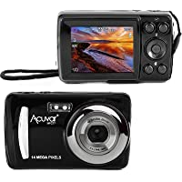 """Acuvar 14MP Megapixel Compact Digital Camera and Video with 2.4"""" Screen with Easy Editing Software CD"""
