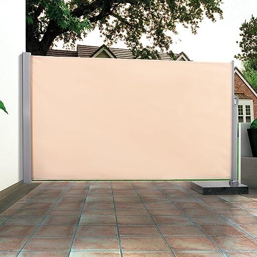 Toldo lateral protector visual y cortavientos para terraza o ...