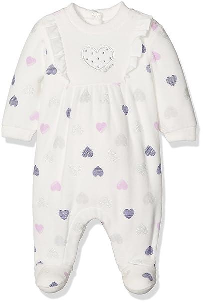 Chicco 9021494, Pelele para Bebés, Blanco (Naturale Stampato), (Talla del