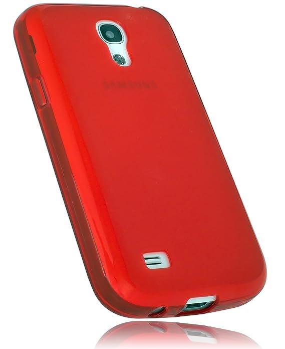 mumbi TPU Schutzhülle für Samsung Galaxy S4 mini Hülle rot