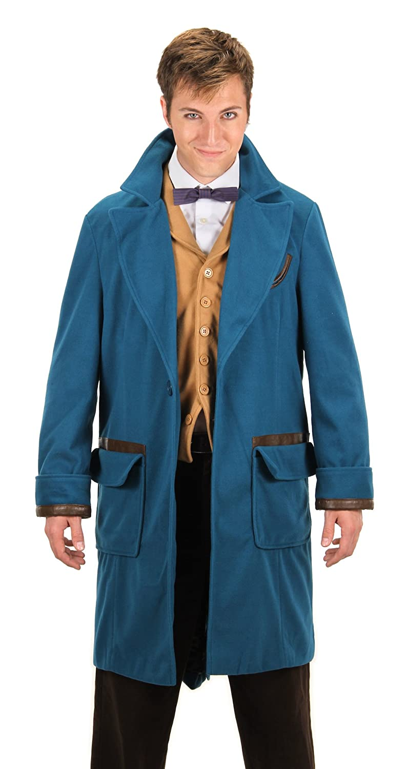 Men's Vintage Style Coats and Jackets elope Newt Scamander Coat $112.99 AT vintagedancer.com