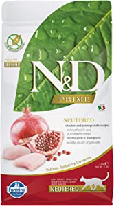 Farmina Grain-Free Chicken and Pomegranate Adult Neutered Cats 3.3 pounds