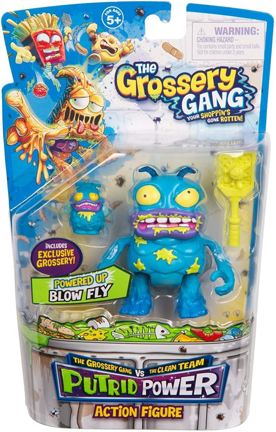 Grossery Gang The Season 3 Action Figurine - Blow Fry