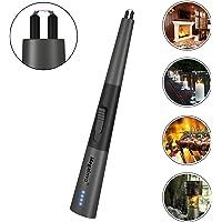 Candle Lighter Electric Arc Lighter Jet Flame Gas Lighter Upgrade USB Lighter