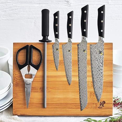 Amazon.com: Miyabi Hibana 54490-007 - Juego de cuchillos (7 ...