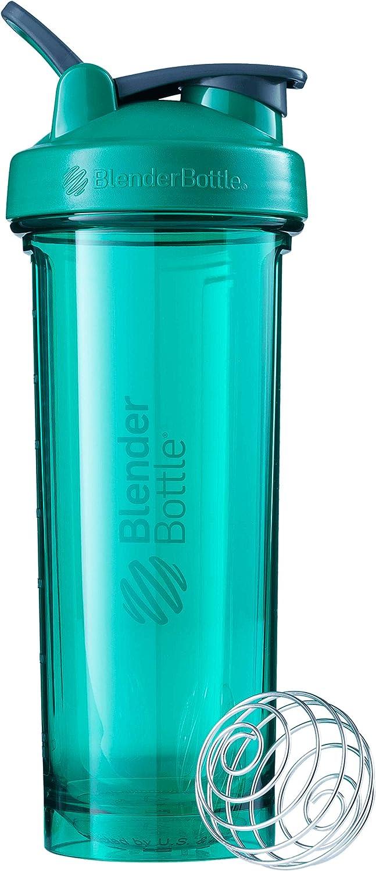 BlenderBottle Pro Series Shaker Bottle, 32-Ounce, Emerald Green