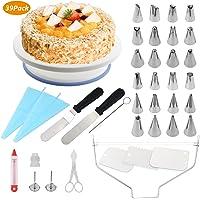 WisFox Cake Turntable, Torta Giratoria, Decoración de Pasteles