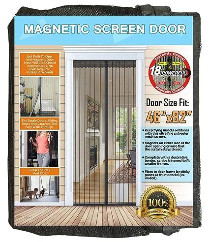 Amazon.com: NGreen Puerta de pantalla magnética reforzada ...