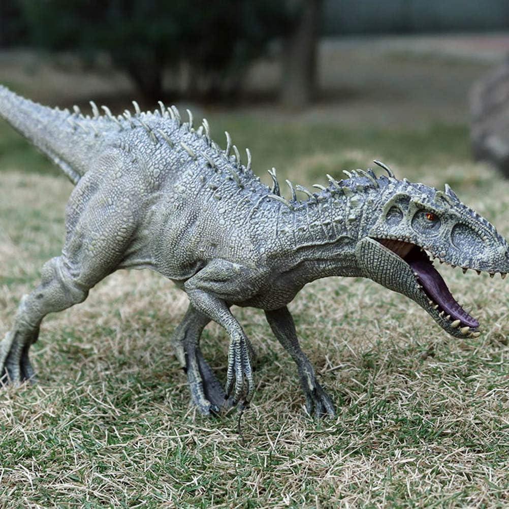 Uyuke en Plastique Jurassic World Indominus Rex Dinosaure Figurines /À Bouche Ouverte Dinosaure Monde Animaux Mod/èle Enfant Jouet Cadeau