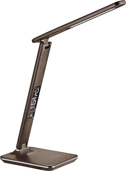 lampada da scrivania con displey