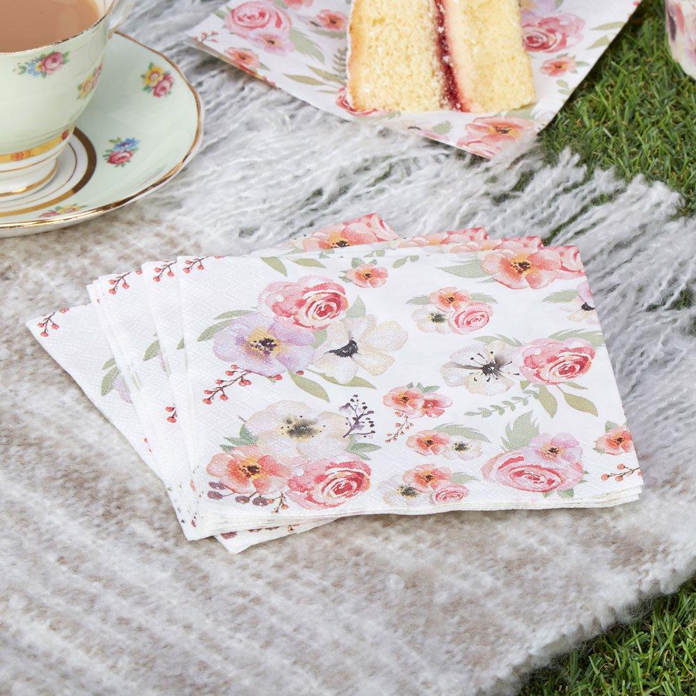 Neviti Time for Tea Servietten Blumen