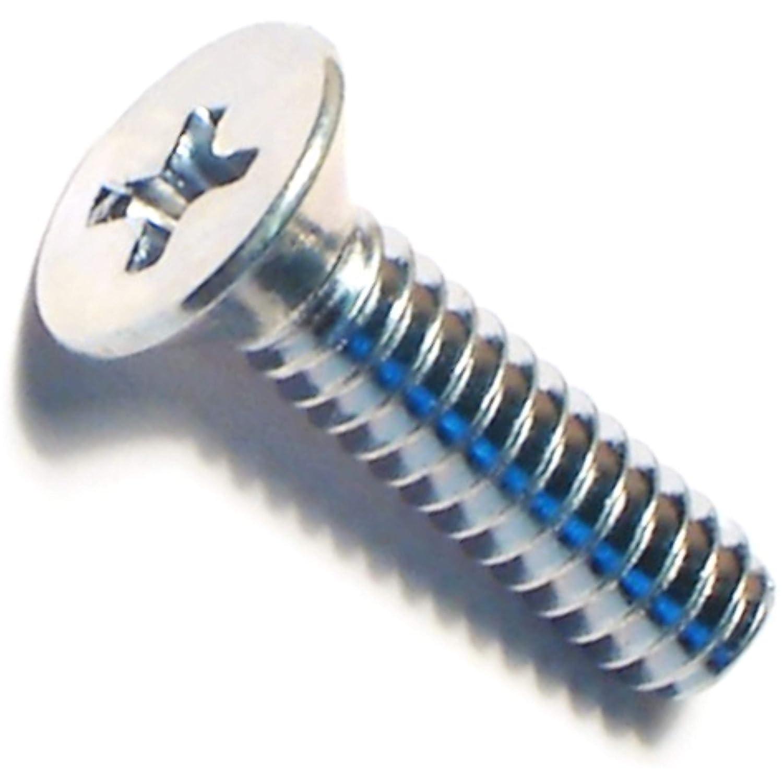 Hard-to-Find Fastener 014973288488 Phillips Flat Machine Screws 10-24 x 3//4 Piece-35