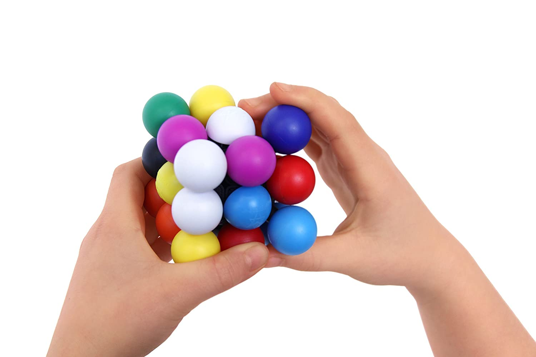 Recent Toys Molecube Mefferts Brain Teaser Puzzle 2.5 2.5 Project Genius MK6866