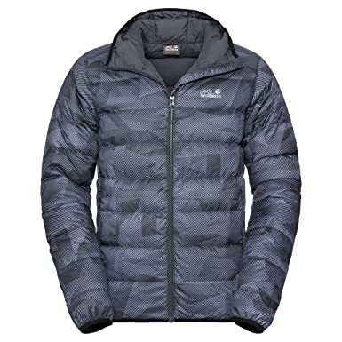 JACK WOLFSKIN Herren Daunenjacke HELIUM SNOWDUST MEN, black all over, XXL, 1203651 7544006