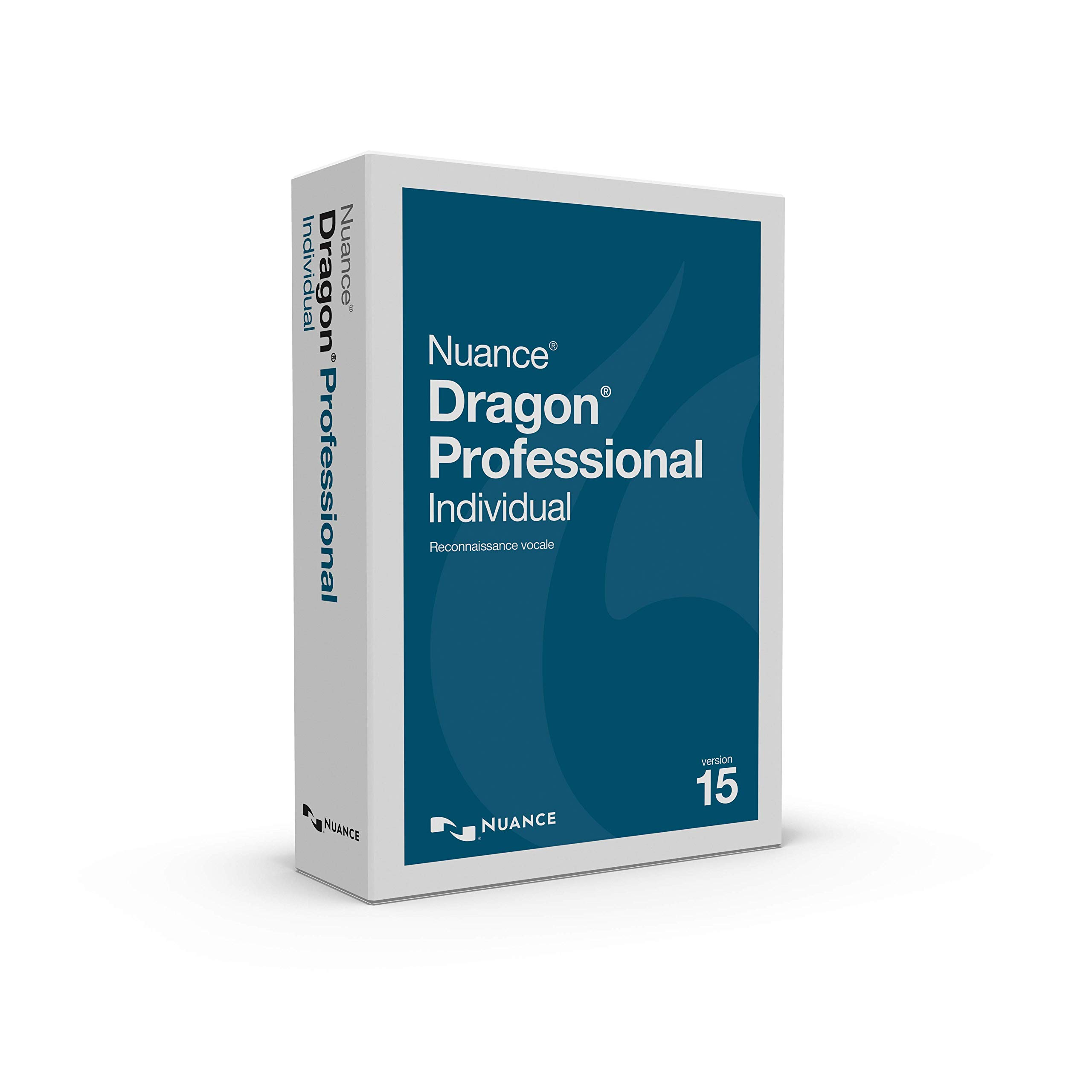 Dragon Professional Individual 15, French by Nuance Dragon