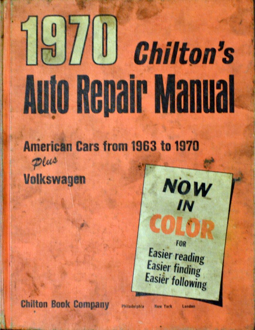 1970 Chilton's Auto Repair Manual American Cars from 1963 to 1970 Plus  Volkswagen: Chilton: 0635111990423: Amazon.com: Books