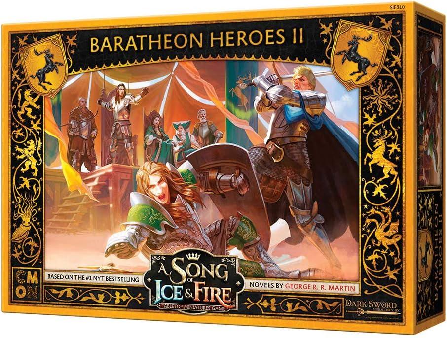 Una canción de hielo y fuego: Baratheon Heroes II: Amazon.es: Juguetes y juegos