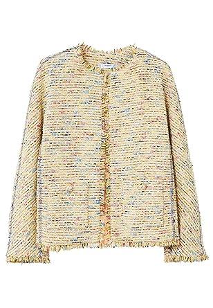 MANGO Women s Trim Tweed Jacket at Amazon Women s Coats Shop ffad785910ea