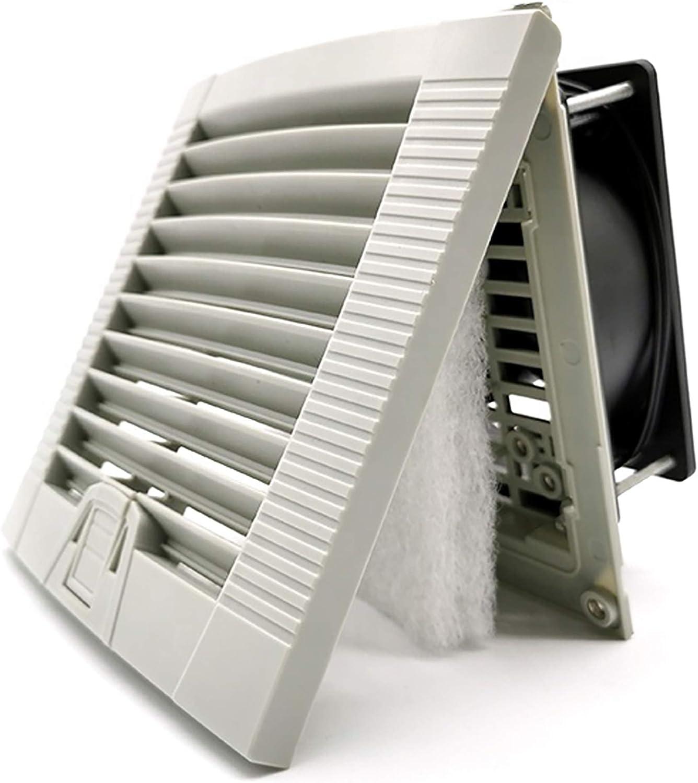 Ventilador 120x120x38 Extractor de Olores, Humo, Calor, Humedad Para Baño Cocina Garaje Armario Ascensor Ventilador de Techo y Pared – Silencioso - Rodamiento de Bolas