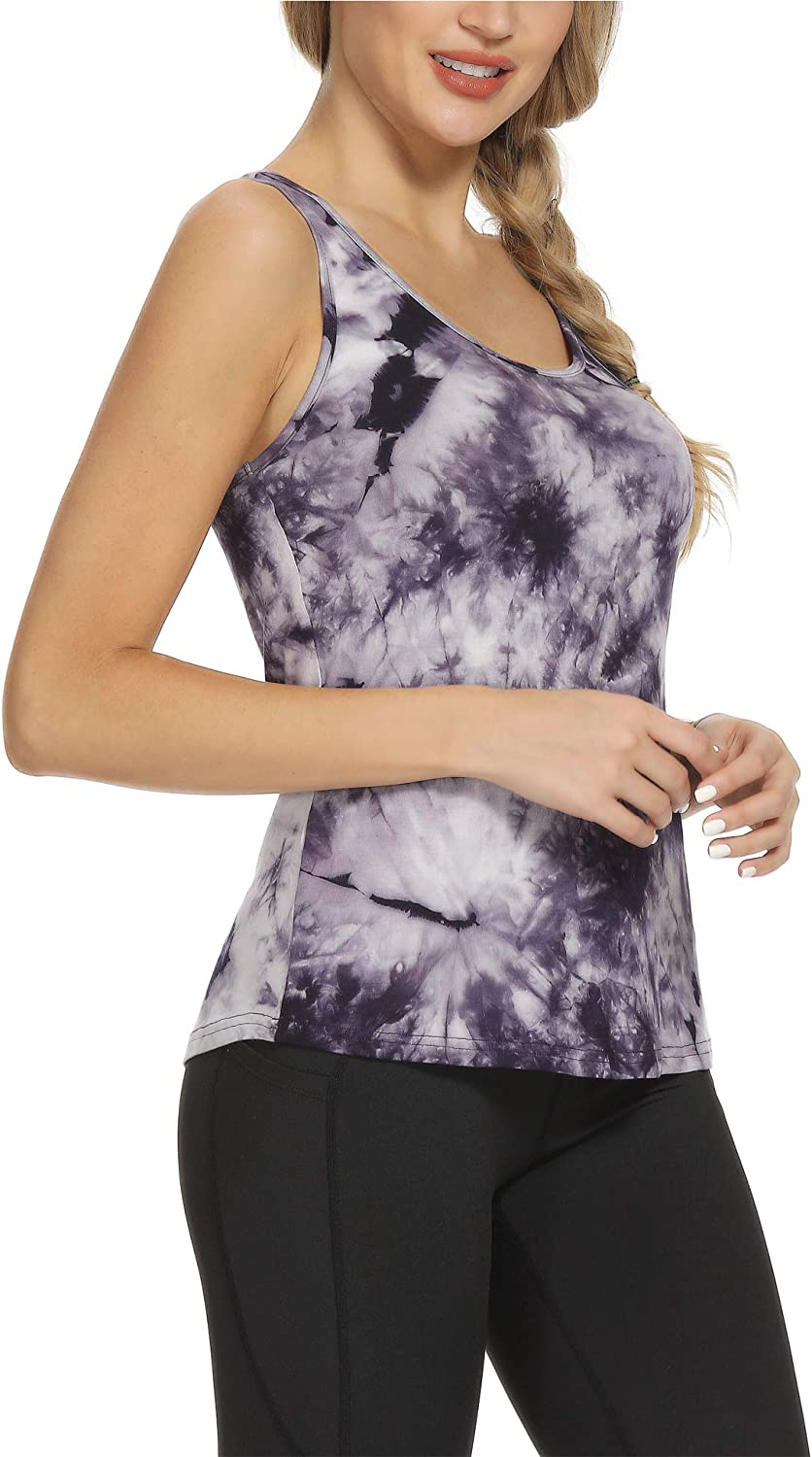 Clicilen Workout Tops for Women Yoga Shirts Loose fit Active wear Gym Shirts Exercise Tops