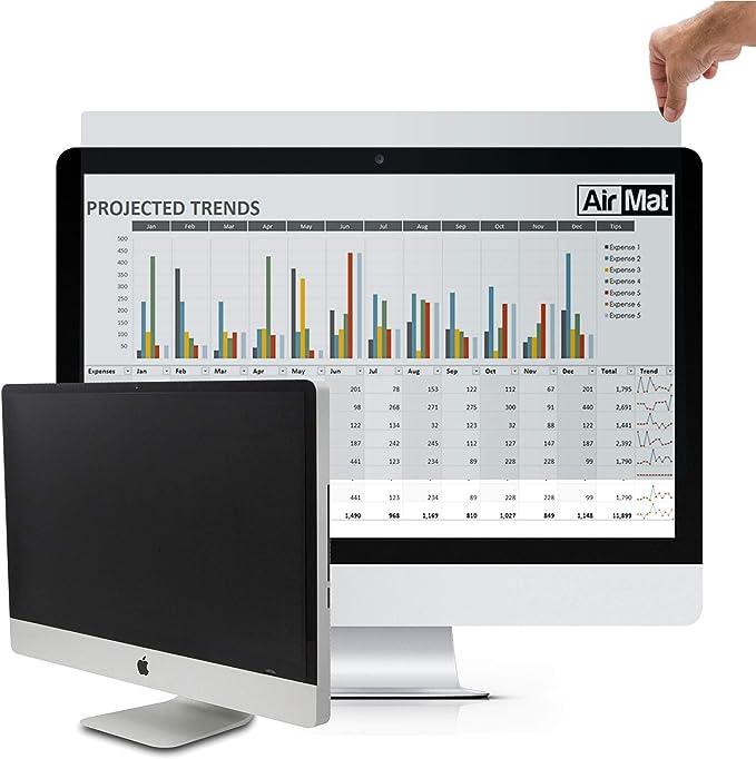 Air Mat - 24 (24.1) Pulgadas Filtro de Privacidad Premium, Anti-Spy Privacy Screen Filter, Protector de Pantalla para Ordenador & Monitor Standard (24