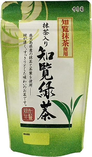 寿老園 知覧抹茶使用 抹茶入り知覧緑茶 100g×5袋