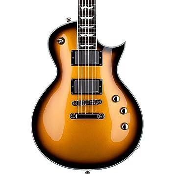 Esp Ltd EC-1000 de la serie CE Guitarra eléctrica - metálico oro Sunburst: Amazon.es: Instrumentos musicales