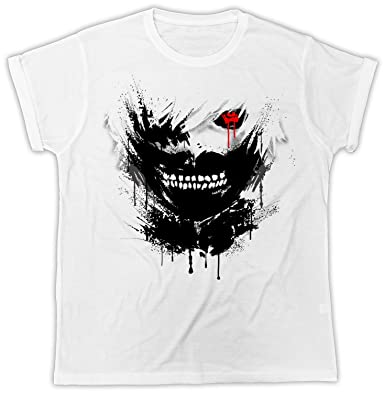 Uk print king Tokyo Ghoul Movie Poster Divertida, Fresca, Regalo, Diseñada, Camiseta Unisex: Amazon.es: Ropa y accesorios