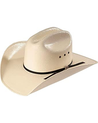 Amazon.com  Justin Men s Ranch Hand Straw Western Hat Natural 6 7 8 ... ceb4d0e8402f