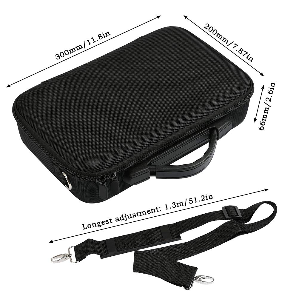Shockproof Waterproof Portable Shoulder Bag Compatable with DJI Tello Drone with Gamesir T1D Gamepad Remote Controller YANSHON Tello Carrying Case