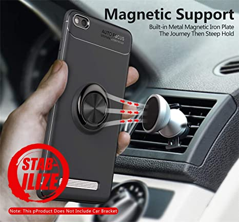Amazon.com: Xiaomi Redmi 4A - Funda con soporte magnético ...