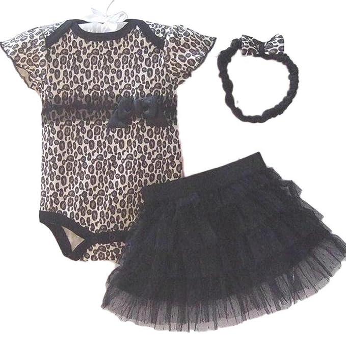 32 opinioni per Sannysis® Neonato Baby Girl Cut fascia + romper + TUTU Outfit Abbigliamento
