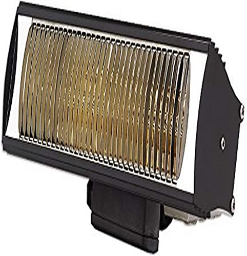 Solaira Cosy SCOSYAW15120B 1500W 120V Outdoor Commercial Residential Heater, Black