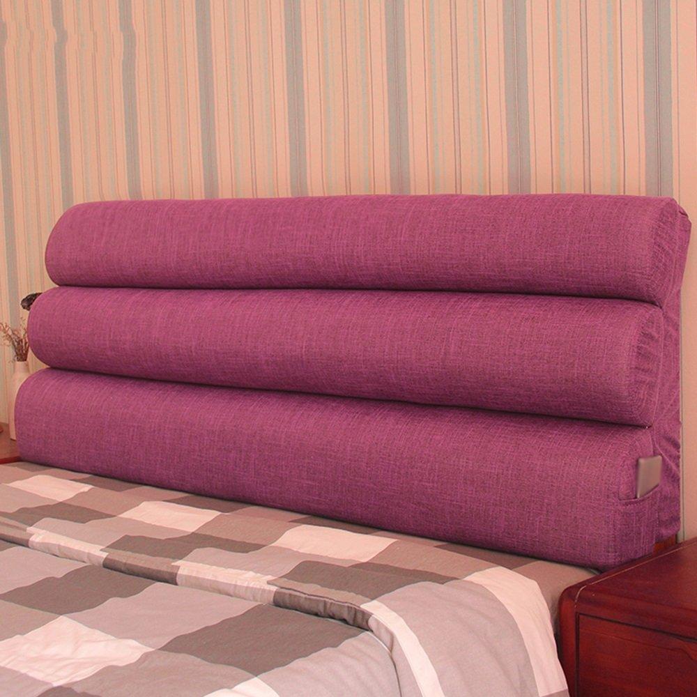 ファブリックベッドサイドクッション/ダブルベッドヘッドレスト/ Washable Bed Headパック/ソファ枕 183*56cm 183*56cm C B0795CWZM5