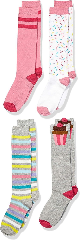 Brand - Spotted Zebra Girls Knee Socks: Clothing